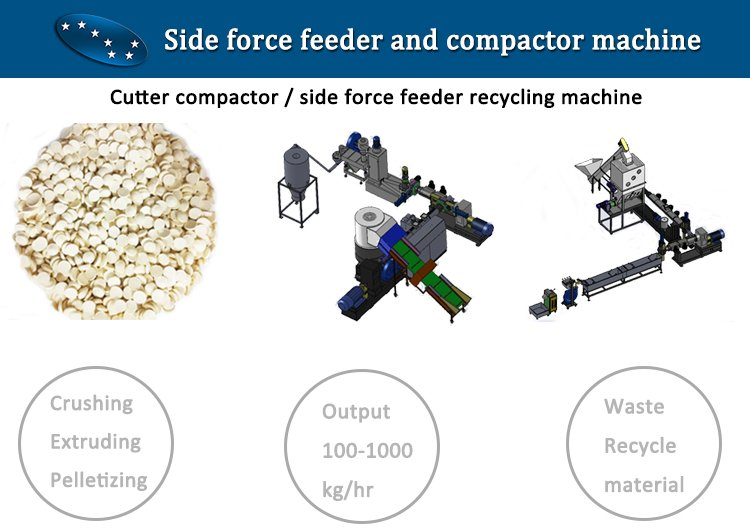 Side force feeder and compactor pelletizing machine line.jpg